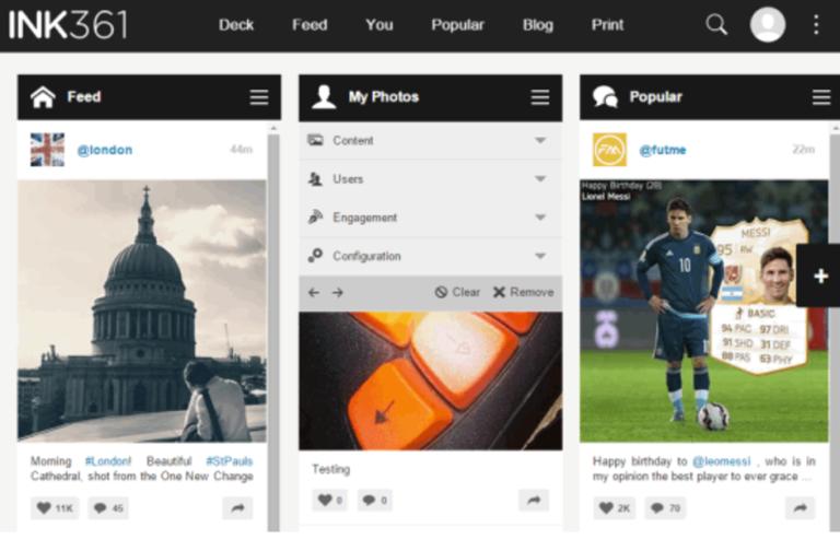 INK361-social-media-platform
